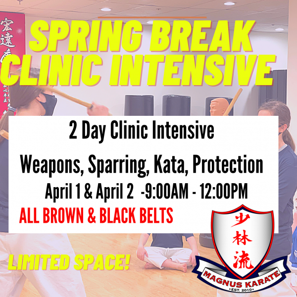 March Spring Break Clinic Intensive