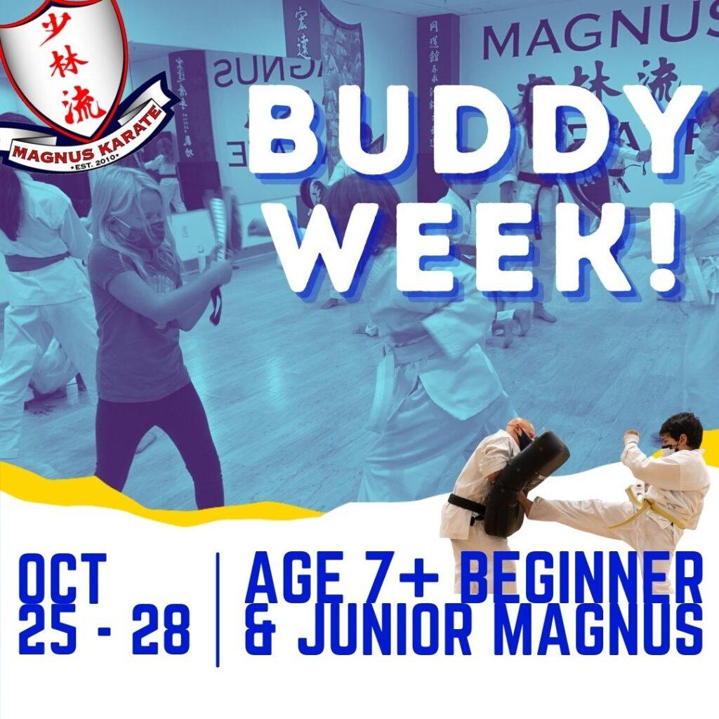 October Buddy Week